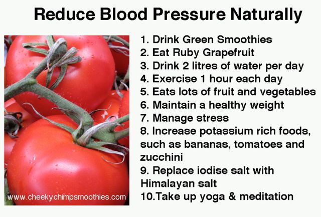 Blood Pressure - Cheeky Chimp Smoothies